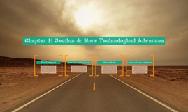 Chapter 11 Section 4: More Technological Advances