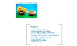 Copy of LE MARKETING EMOTIONNEL