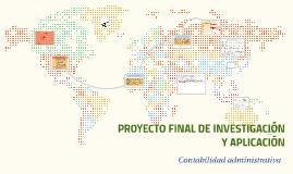 PROYECTO FINAL DE INVESTIGACIÓN Y APLICACIÓN