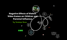negative effects of violent video games Are video games bad for your health a decade ago most people would probably have said yes after all, how could it be good for anyone to spend hours in front of a screen, playing often violent games.