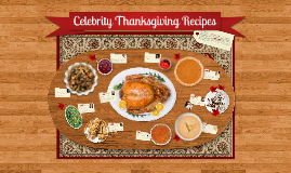 Copy of Celebrity Thanksgiving Prezipes!