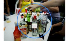Salg af ren spiritus, alkohol