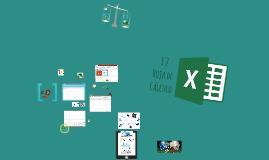 3.2 Hoja de Cálculo (Excel)