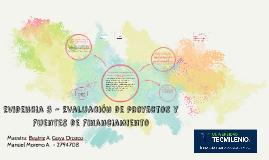 Evidencia 3 - Evaluación de proyectos y fuentes de fianciami