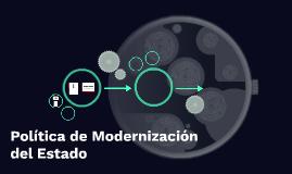 Política de Modernización del Estado