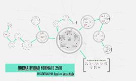NORMATIVIDAD FORMATO 2516