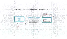 Statushouders in de gemeente Berg en Dal