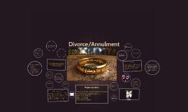 Divorce/Annulment