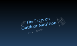 Outdoor Nutrition