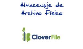 Copy of Almacenaje de Archivo Físico