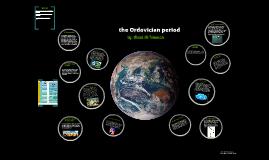 the ordovician period
