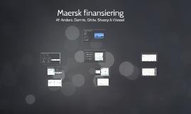 Maersk finansiering
