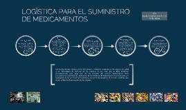 LOGÍSTICA PARA EL SUMINISTRO DE MEDICAMENTOS
