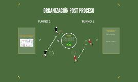 organization AREA POST PROCESO