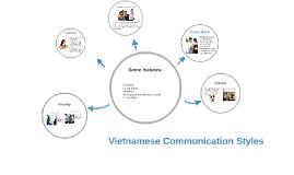 Vietnamese Communication Styles