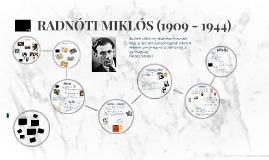 RADNÓTI MIKLÓS (1909 - 1945)