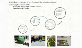 A Study to evaluate the effects of Simulation-Based Training