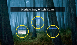 Modern Day Witch Hunts