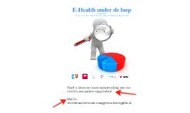 E-Health onder de loep