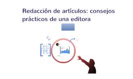 Copy of Redacción artículos - consejos prácticos_2014