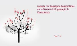 Evolução da Linguagens Documentárias até os Sistemas de Orga