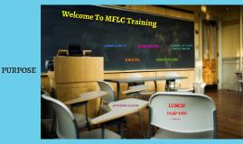 Copy of MFLC TRAINING