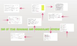 grammar and vocabulary review