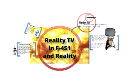 Reality TV in F-451 and Reality