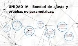 Tema 4 - Bondad de ajuste y pruebas no paramétricas