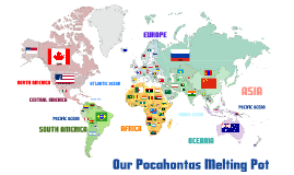 Countries of the World and their Flags- Pocahontas