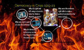 3: Democracy in Crisis 1919-23