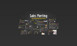 Sales Meeting