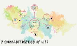 7 Characteristics of Life