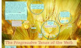The Progressive Tense of the Verb