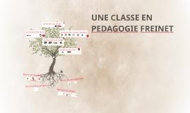 Une classe en pédagogie Freinet
