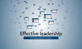 Copy of Efektívny leadership