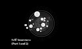 Self Awareness (Part 1)
