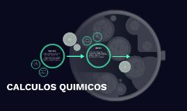 CALCULOS QUIMICOS