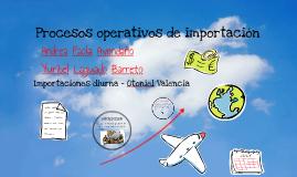 Copy of Proceso operativo de las importaciones