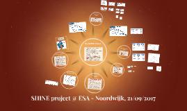 SHINE Project @ ESA Workshop