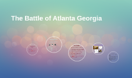 The Battle of Atlanta Georgia