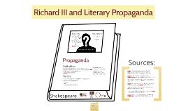 Richard III & Propaganda