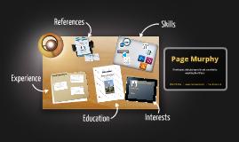 Desktop Prezumé by Page Murphy