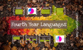 fourth year languages
