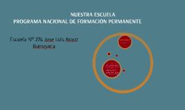 Copy of Copy of PROGRAMA NACIONAL DE FORMACIÓN PEMANENTE