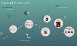 The 7 principals of art presentation