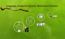 Language, Endocrine System, Behavioral Genetics