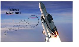 Talleres de cohetes Noche de las Estrellas 2017