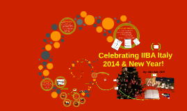 Celebrating IIBA Italy 2014 and New Year