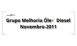 Grupo Melhoria Diesel - Novembro 2011